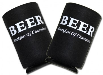 Beer Koozies : Breakfast Of Champions Collapsible Set