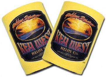 Beer Coozies : Key West Rum Can Cooler Set
