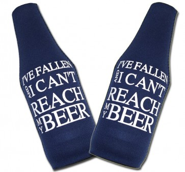 Can't Reach My Beer Coozies : Bottle Suit Set