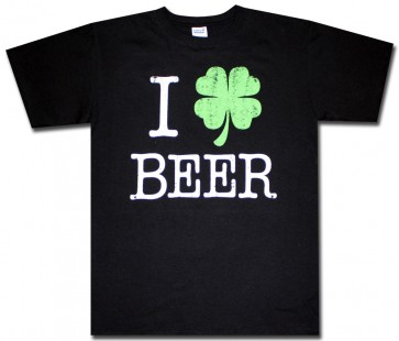 St. Patty's 'I Shamrock Beer' T Shirt