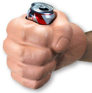 GIANT Fist Glove Koozie