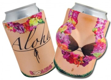 Boobzie Hawaiian Aloha Koozie Set