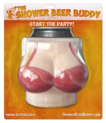 Shower Beer Buddy : Portable Beer Holder