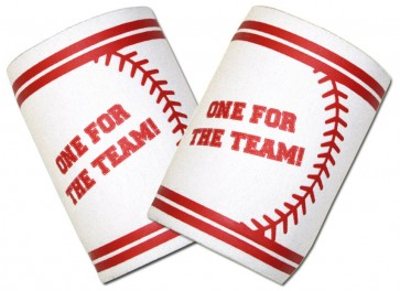 """One For The Team!"" Baseball Koozie Set"