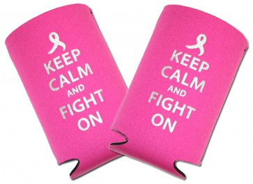 KCFO Breast Cancer Collapsible Koozie Set
