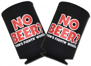 """No Beer?"" Collapsible Koozie Set"