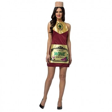 Wine Bottle Costume Dress
