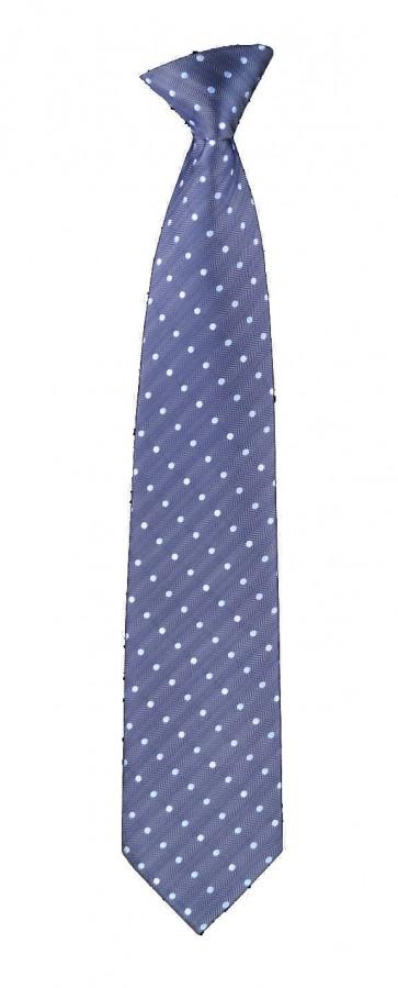 Blue Polka Dots Flask Tie