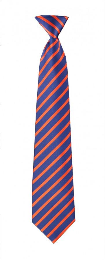 Navy & Red Stripes Flask Tie
