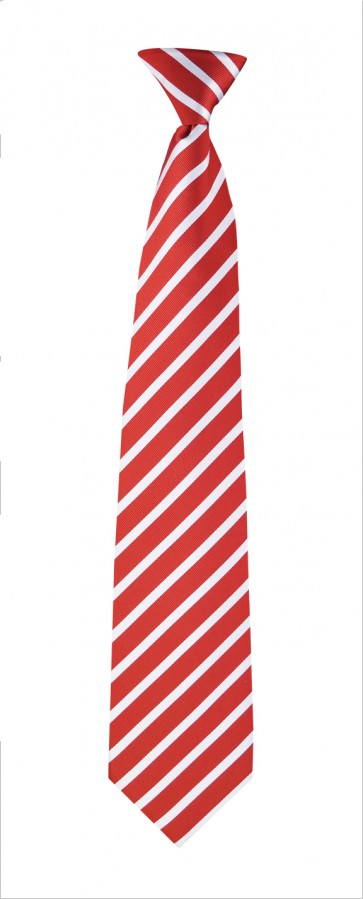 Red & White Stripes Flask Tie
