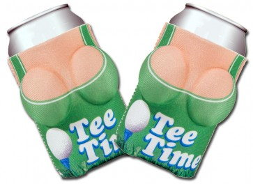Boobzie Tee Time Golf Koozie Set