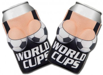 Boobzie World Cups Soccer Coozie Set