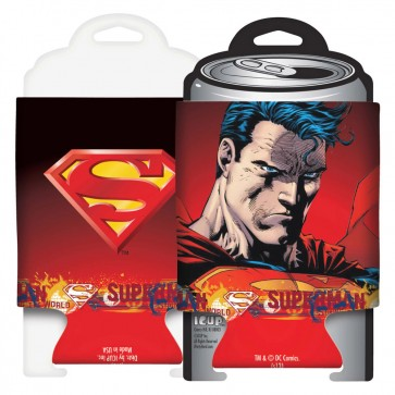 Superman Stare Collapsible Koozie Set