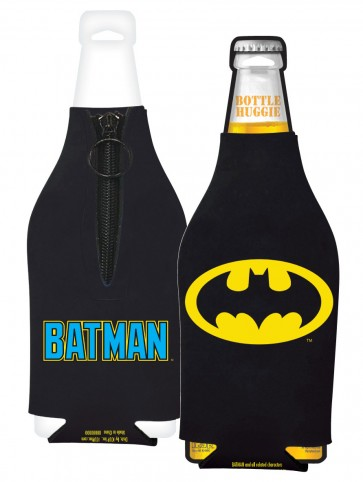 Batman Collapsible Bottle Coozie Set