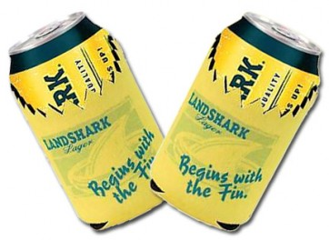 Landshark Lager Collapsible Koozie Set