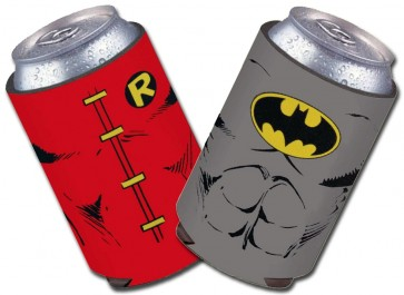 Batman and Robin DC Comics Koozie Set