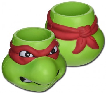 TMNT Rafael Foam Head Can Koozie Set