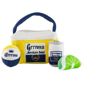 Grrrona Beer Cooler Accessories Plush Dog Toys