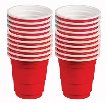 Red Mini Drink Shot Cups