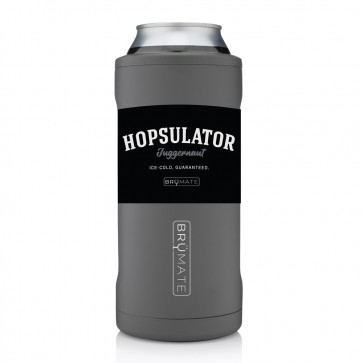 BruMate Hopsulator Juggernaut 24oz Grey Coozie
