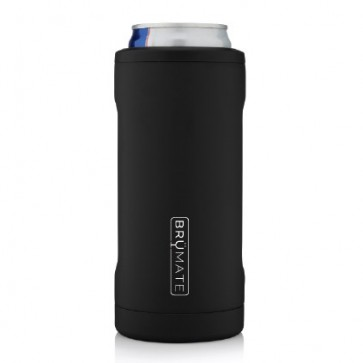 BruMate Hopsulator Slim Black Can Coozie