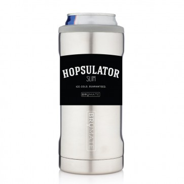 BruMate Hopsulator Slim Stainless Can Coozie