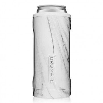 BruMate Hopsulator Slim Carrara Can Coozie