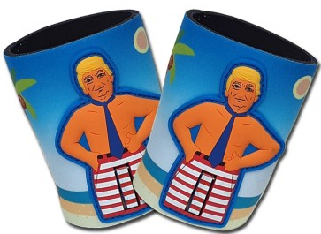 Woody's Beach Presidential Can Coozies