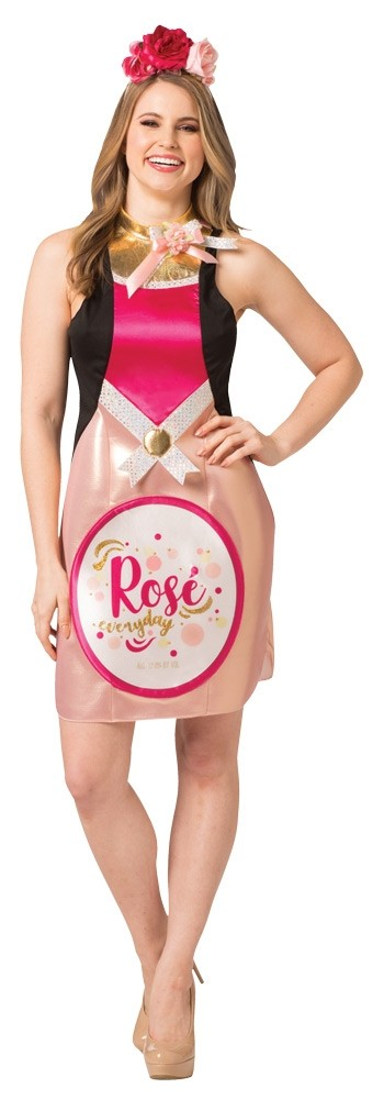 Rose Wine Bottle Costume Dress
