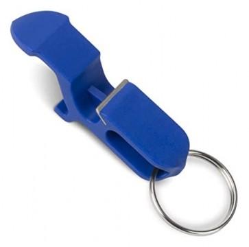 Shotgun Keychain Blue Bottle Opener