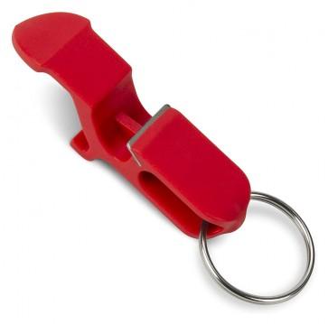 Shotgun Keychain Red Bottle Opener