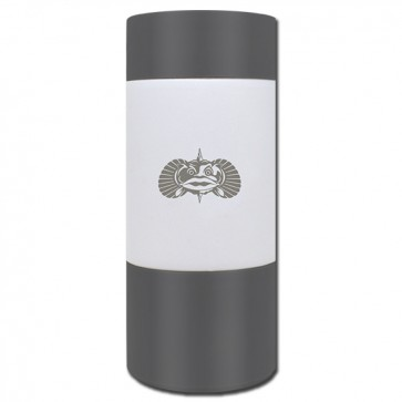 Toadfish Non-Tip Slim White Can Coozie