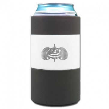 Toadfish Non-Tip White Can Coozie w/ Adapter