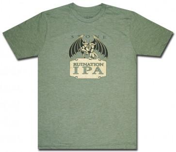 Ruination IPA T-Shirt : Green Comfort Shirt