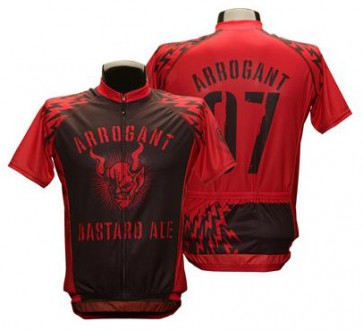 Arrogant Bastard Ale Bolt Cycling Jersey