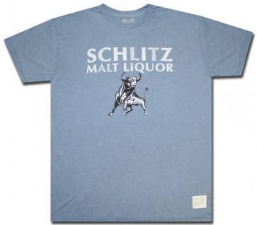 Schlitz Malt Liquor T-Shirt : Bull Comfort Shirt