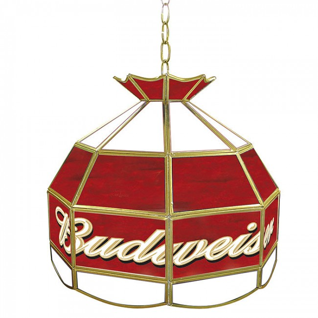 Budweiser Tiffany Light Fixture