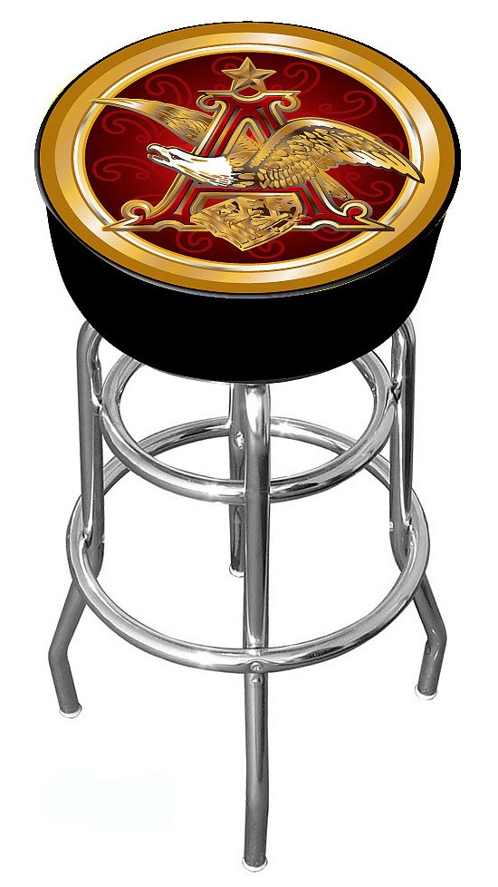 Anheuser Busch Bar Stool Red Eagle Officially Licensed