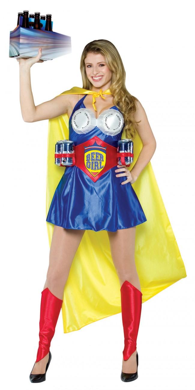 beer girl costume fun beer costume. Black Bedroom Furniture Sets. Home Design Ideas