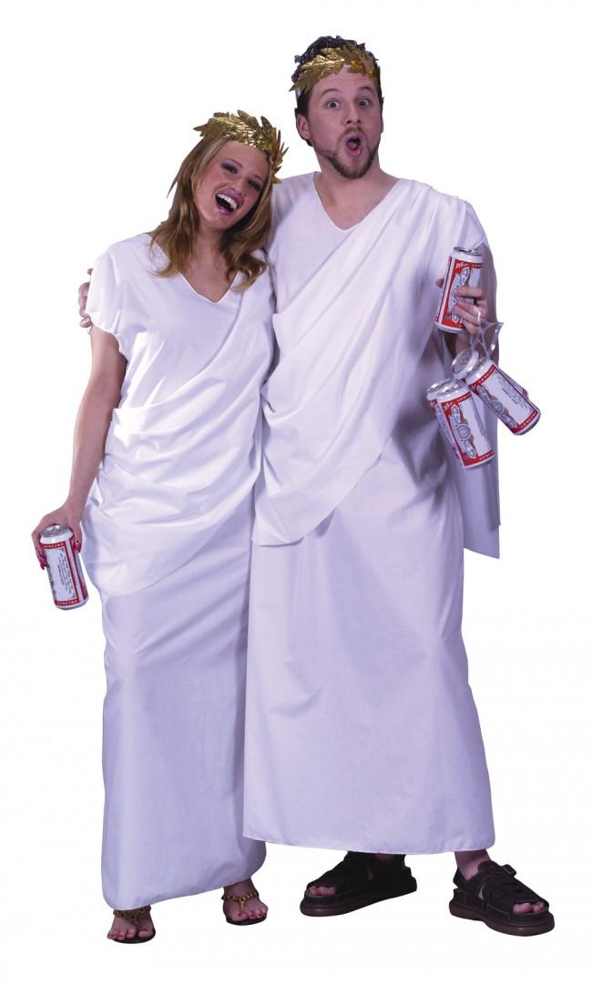 Adult Toga Costume Fun Beer Costume