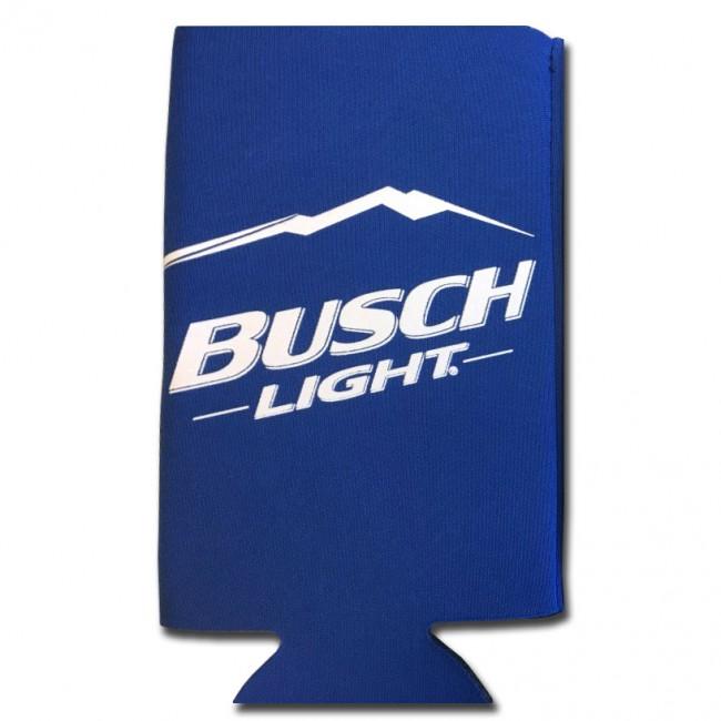Busch Light 25oz Blue Collapsible Koozie Boozingear Com
