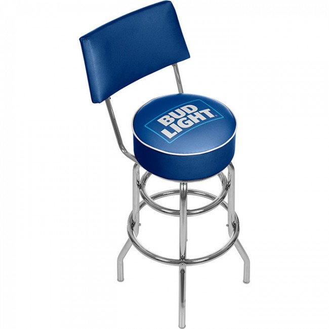 Bud Light Logo Bar Stool Boozin Gear