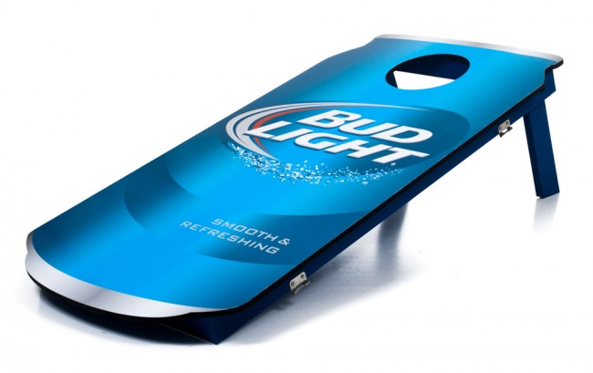Bud Light Cornhole Can Baggo Boards Officially
