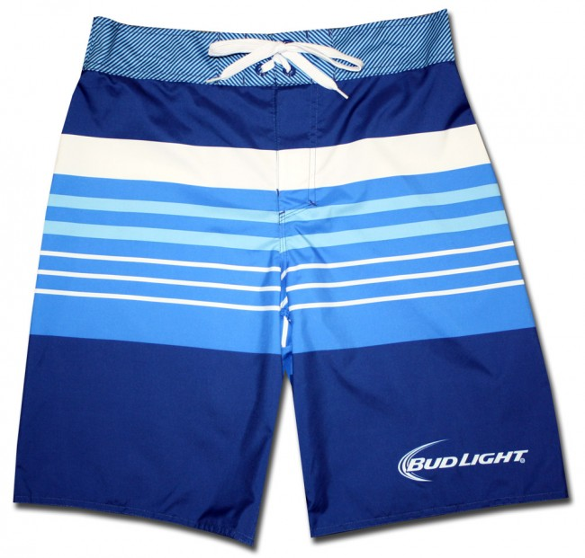 Bud Light Tonal Board Shorts Boozingear Com