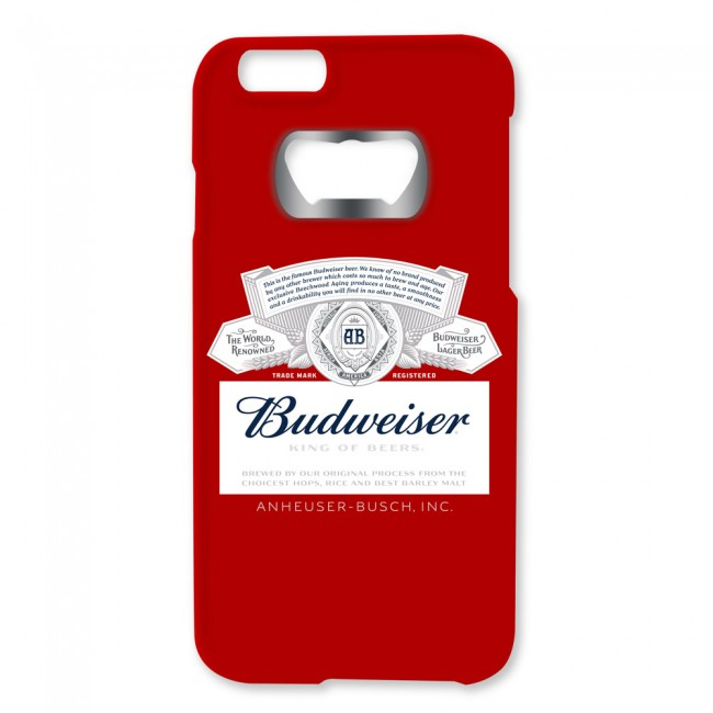 Budweiser Label Iphone 6 6s Bottle Opener Case
