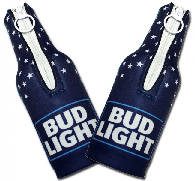 Bud Light Patriotic Usa Bottle Koozies Boozingear Com