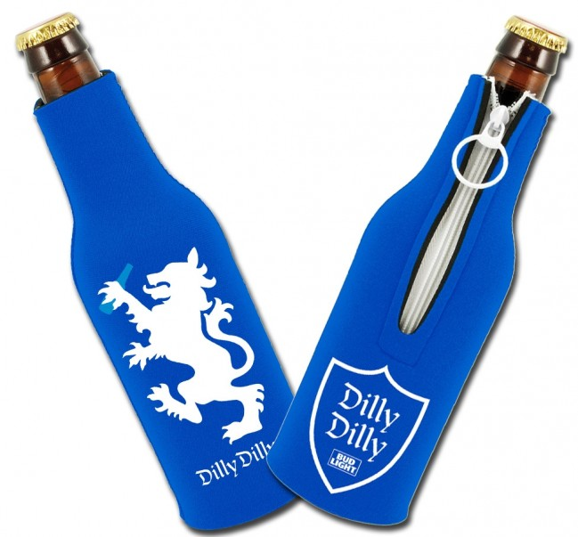 Bud Light Dilly Dilly Collapsible Bottle Koozies