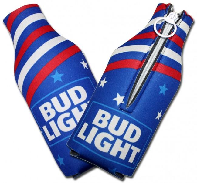 bud light patriotic usa bottle collapsible koozies boozingear com