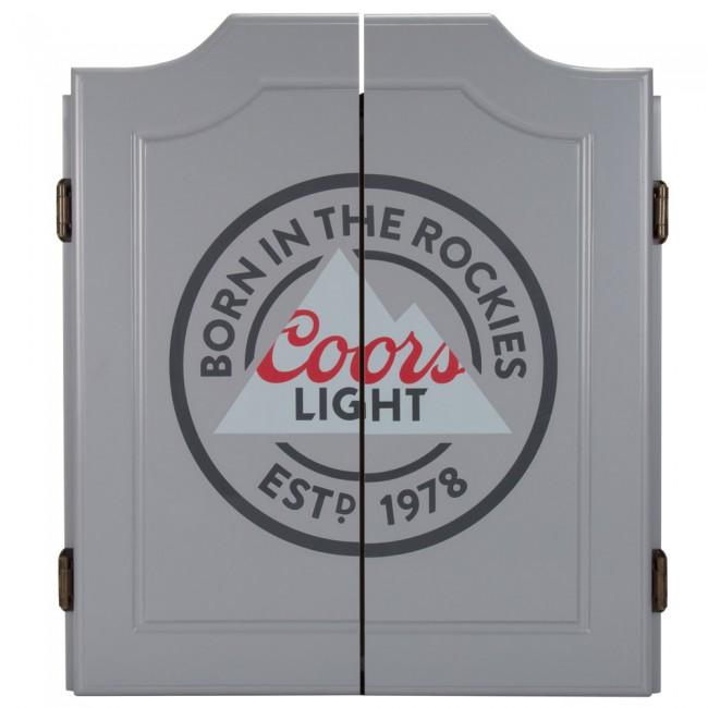 Coors Light Dartboard Set W Darts