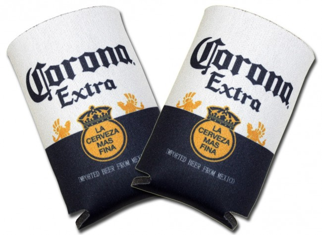 Corona Extra Label Collapsible Koozies Boozingear Com